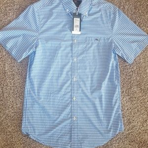 Vineyard Vines Mens Short Sleeve Dress Shirt